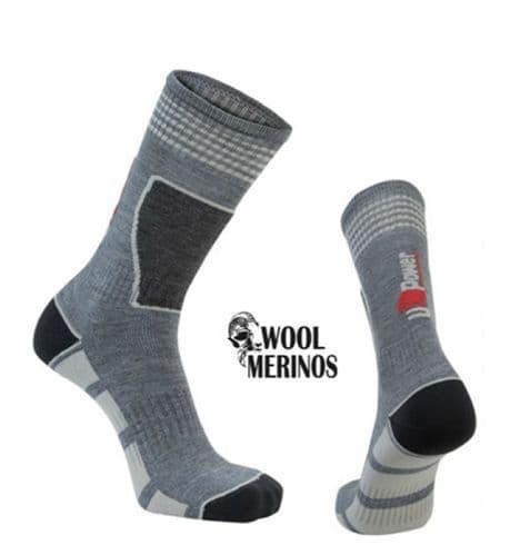 U-Power Frozen Grey Silver Socks